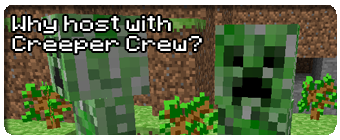 Creeper Crew Minecraft Server Hosting